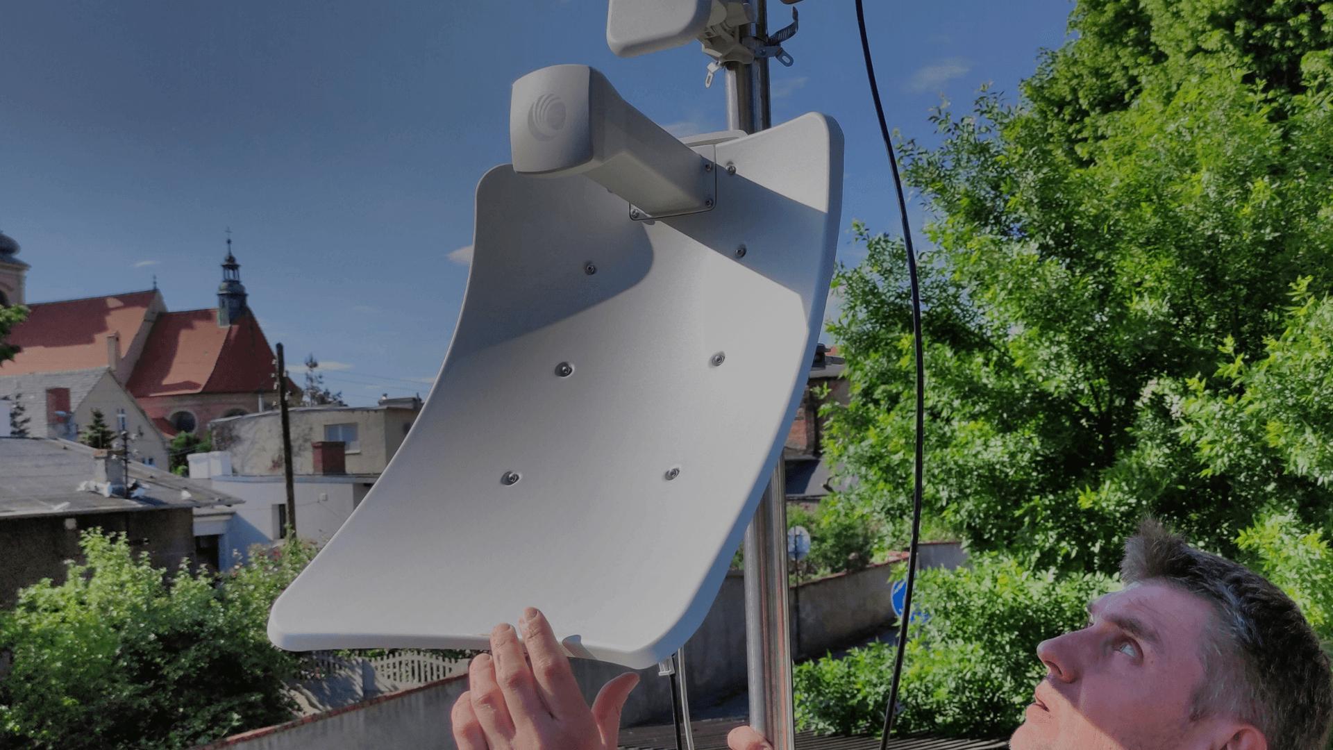 Cambium cn wave 60 GHz instalacja i testy